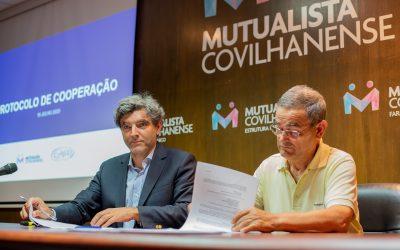 Firmado protocolo com Centro de Assistência Social do Dominguiso