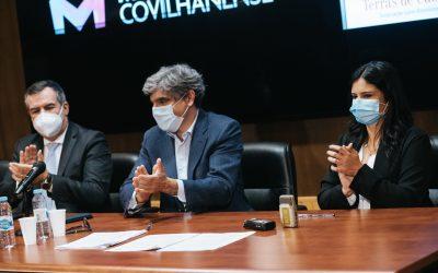 Mutualista Covilhanense e Casa do Brasil – Terras de Cabral assinam protocolo de cooperação institucional com a presença do deputado Paulo Porto Fernandes